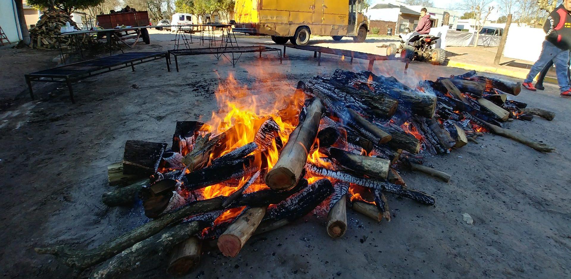 Fiesta del Chorizo Seco - Agenda - Encendido del fuego
